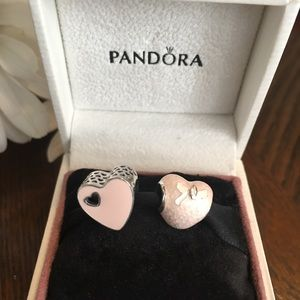 💕Authentic: Pandora Valentines hearts💕